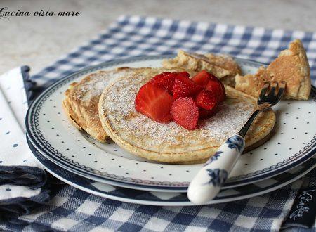 Pancakes integrali senza zucchero