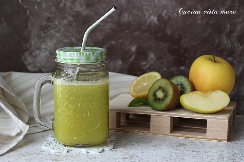 Estratto detox alla frutta green