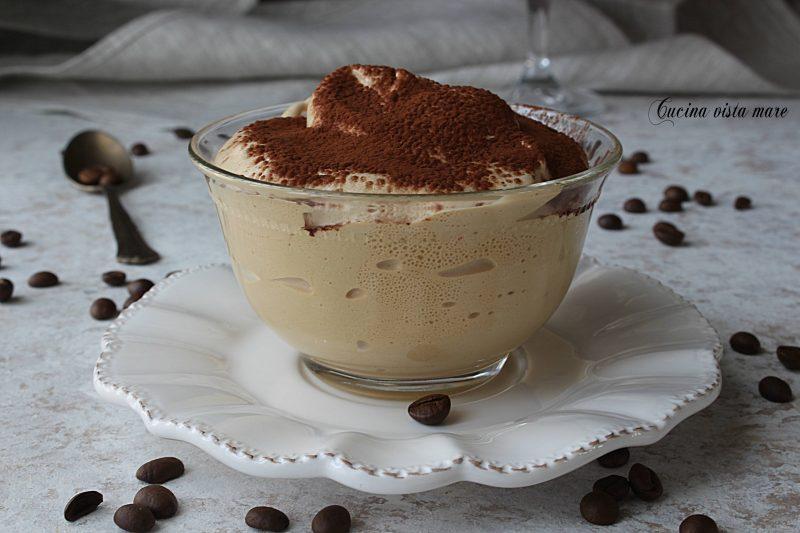 Spumone al caffè nel Monsieur Cuisine