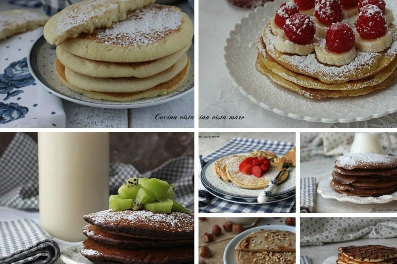 Raccolta pancakes ricette per tutti i gusti