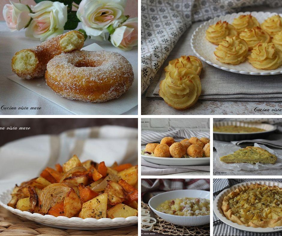 raccolta di ricette con le patate