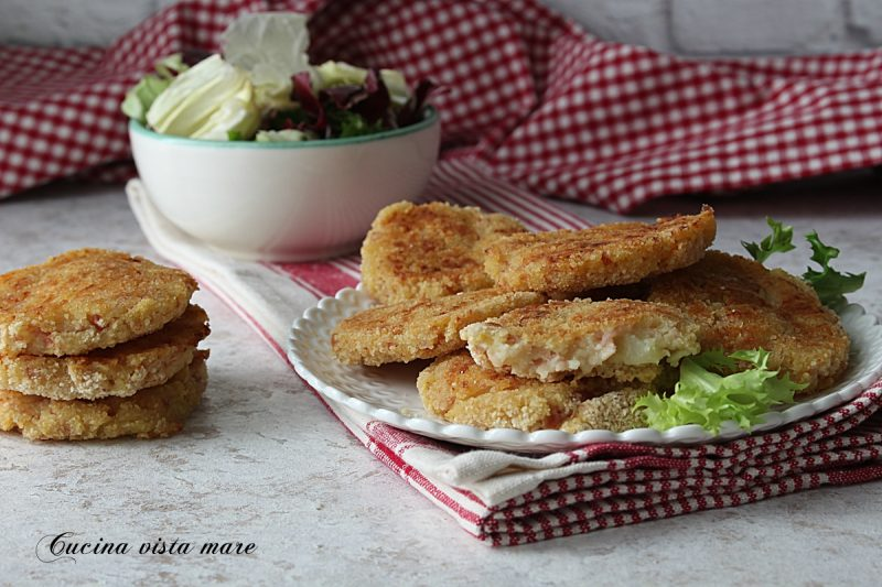 Medaglioni di patate nel Monsieur Cuisine