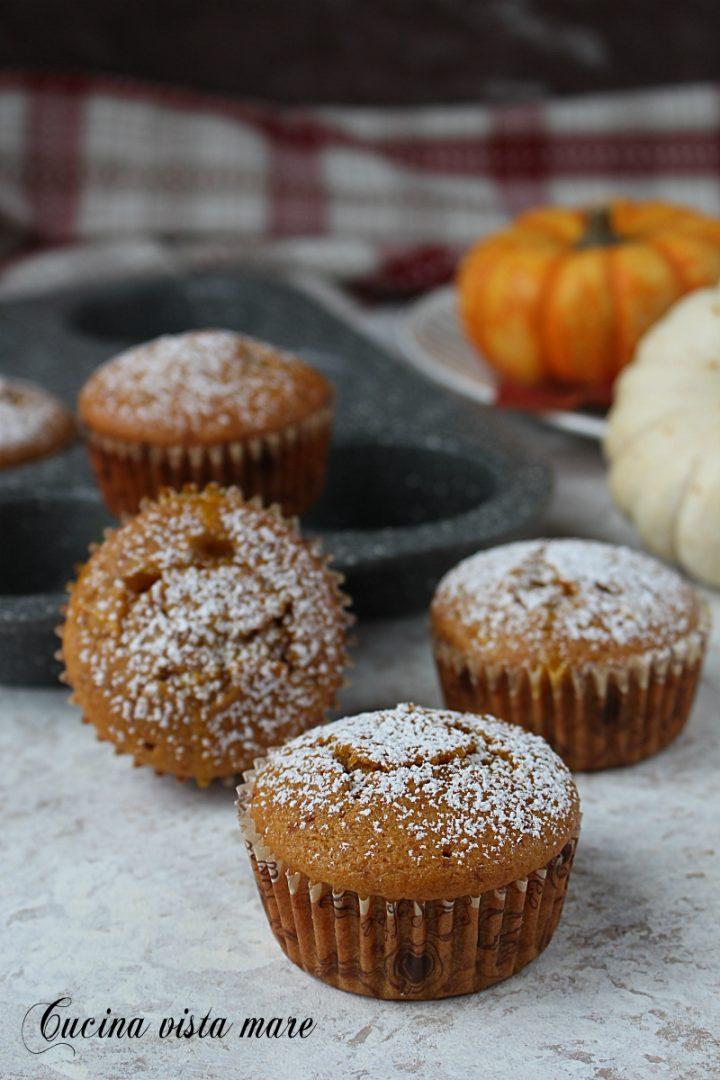 muffin zucca e marmellata