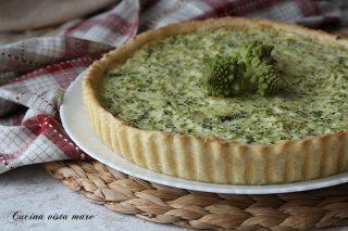 torta rustica broccoli e ricotta