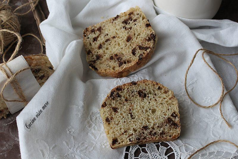 Bauletto di pane e cioccolato