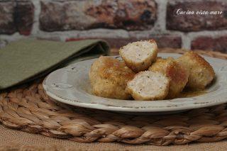 Polpette di pollo al limone Cucina vista mare