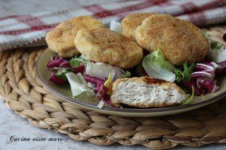 Polpette di pollo e ricotta Cucina vista mare