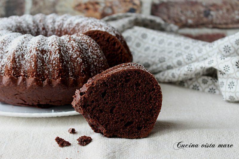 Ciambella olio e cacao