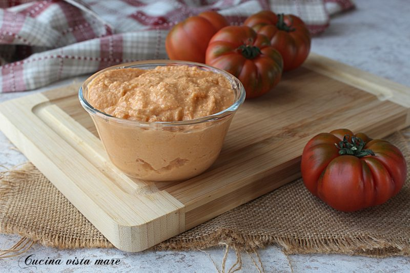 Pesto di pomodori freschi