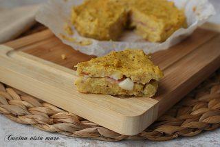 tortino di polenta in friggitrice ad aria