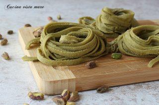 pasta fresca al pistacchio
