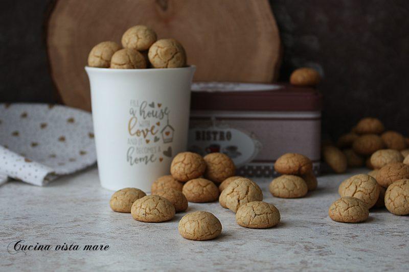 Mini cookies al cappuccino