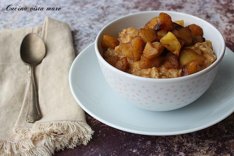 Porridge alla zucca