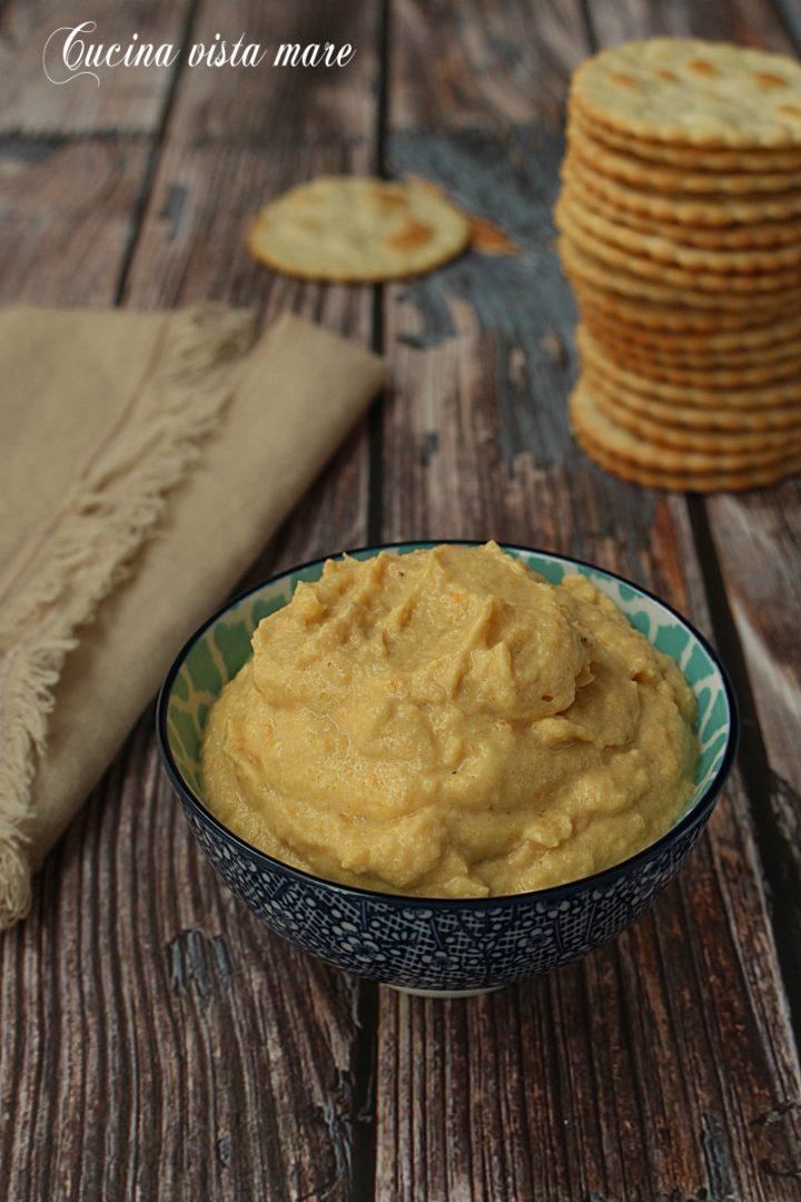 Hummus di zucca Cucina vista mare