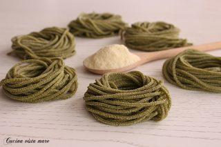 Pasta fresca agli spinaci Cucina vista mare
