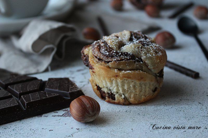 Brioche alla Nutella con pasta madre