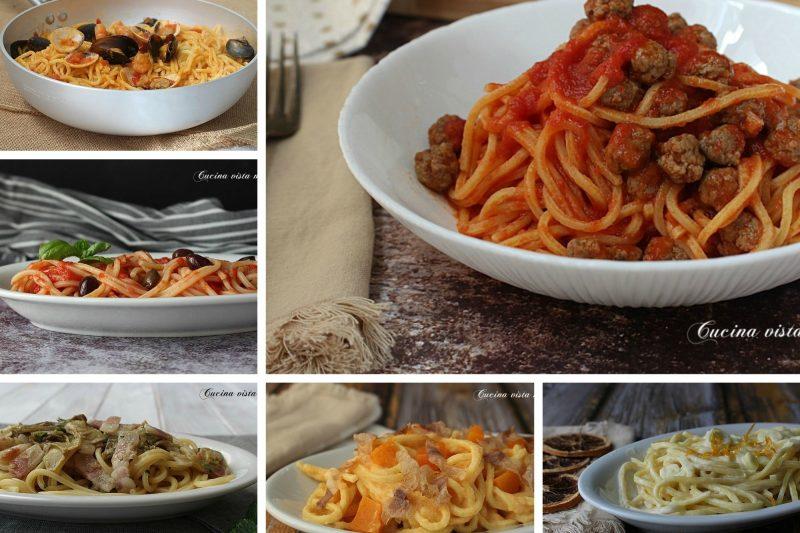 Spaghetti alla chitarra: raccolta di ricette