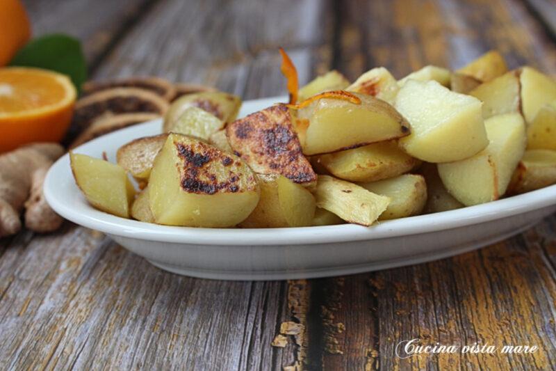 Patate zenzero e arancia
