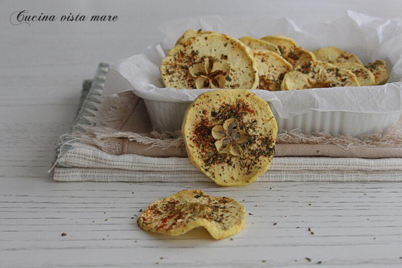 Chips di mele alle spezie