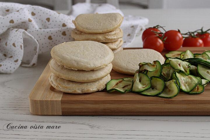 Pancakes di ceci Cucina vista mare