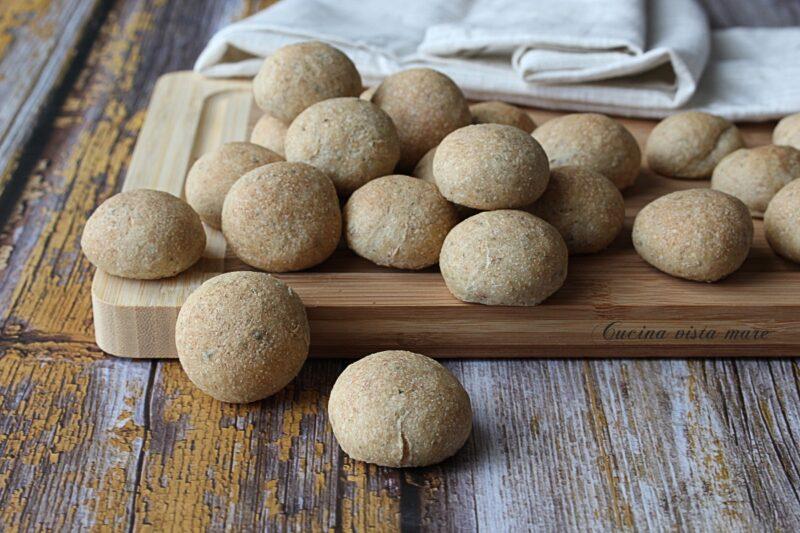Bocconcini di pane all'origano