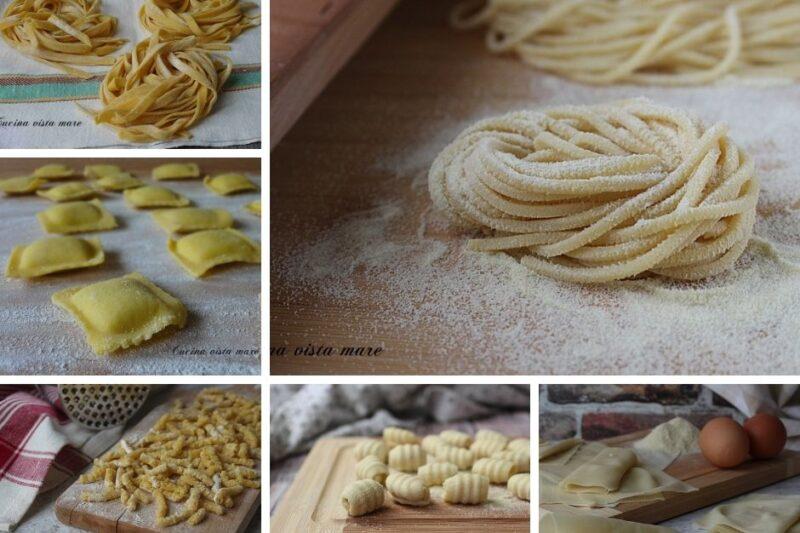 Pasta fresca e gnocchi: raccolta di ricette