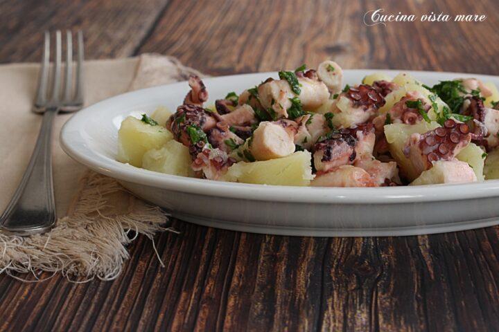 Insalata di polpo con patate in slow cooker Cucina vista mare