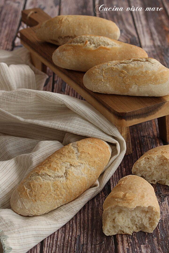 Mini panini croccanti Cucina vista mare