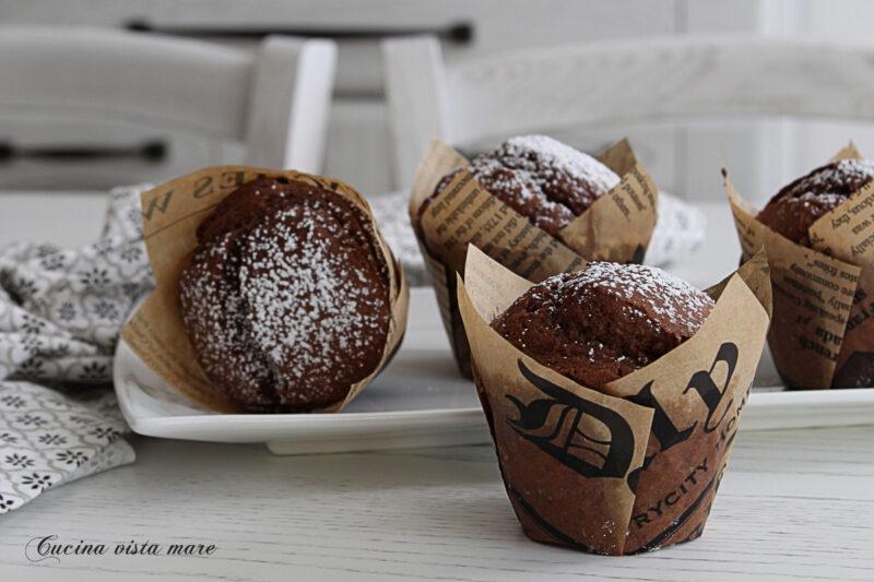 Muffin cacao e mascarpone