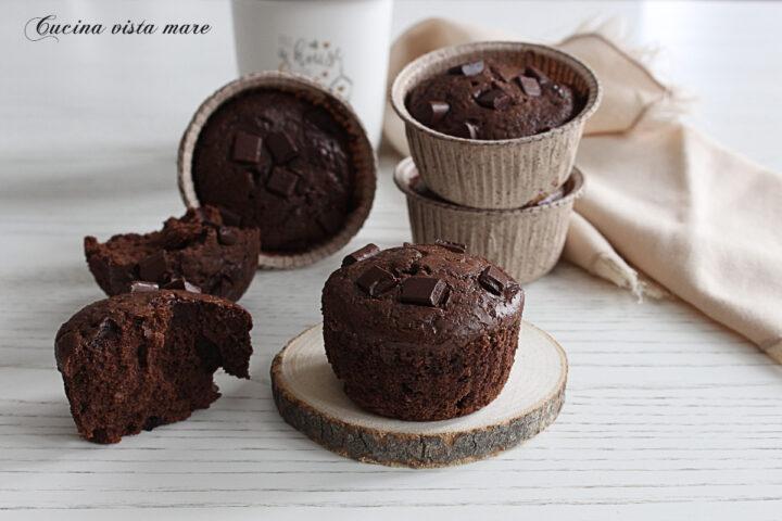 Muffin di gelato Cucina vista mare
