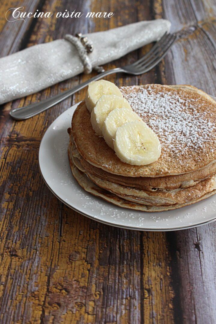 Pancakes solo albumi Cucina vista mare