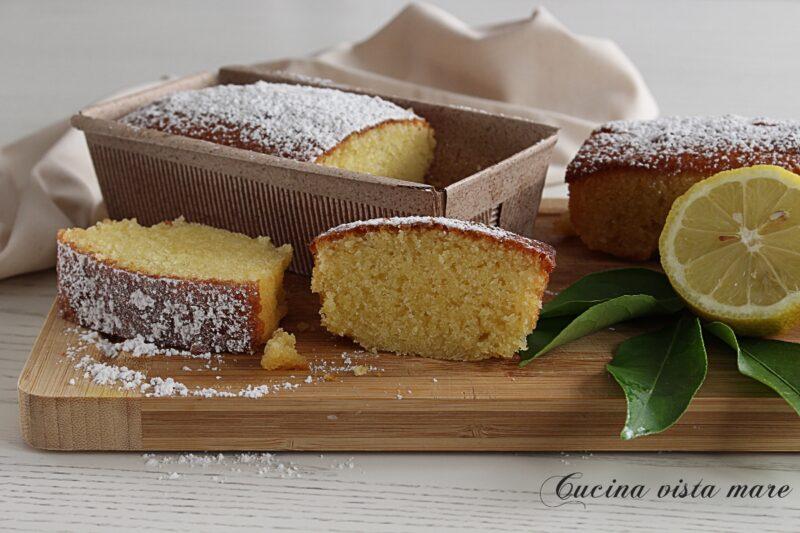 Plumcake limone e cioccolato bianco
