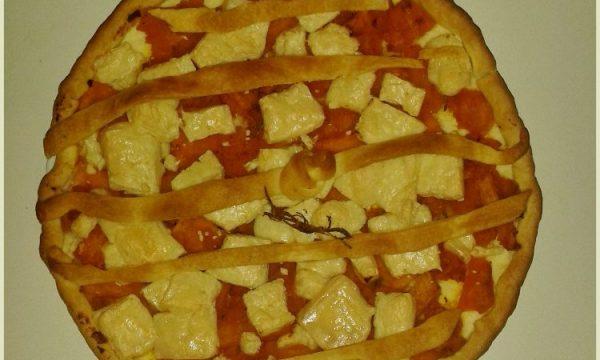 Torta salata con zucca delica e salva cremasco DOP