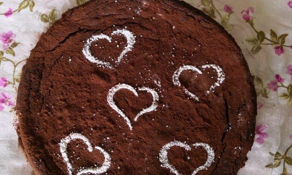 Torta morbida al cioccolato-senza glutine