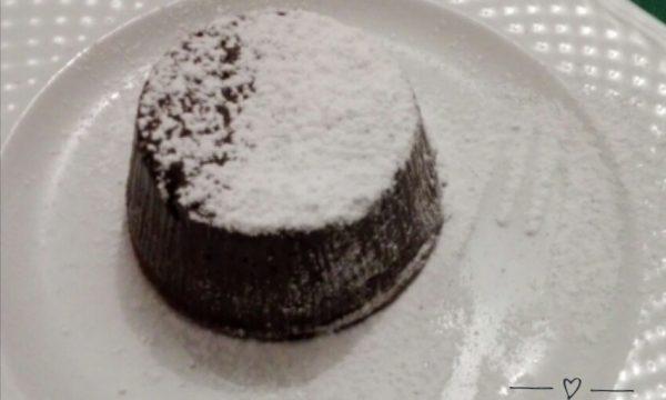 Tortino al cioccolato-senza glutine e lattosio