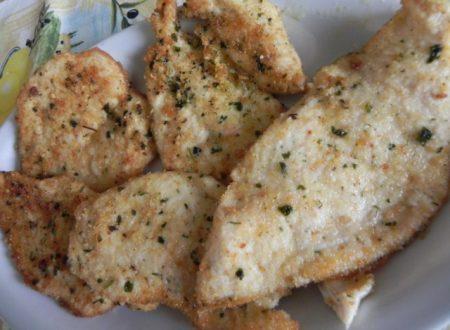 cotolette di pollo saporite,ricetta semplice