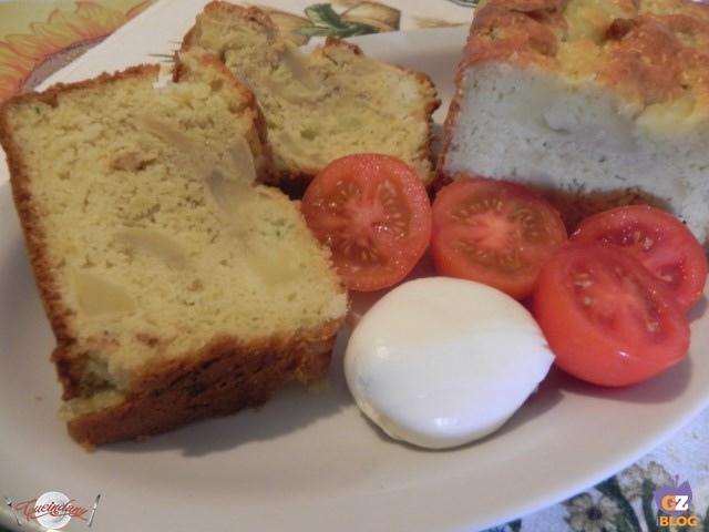 plumcake con patate e porri