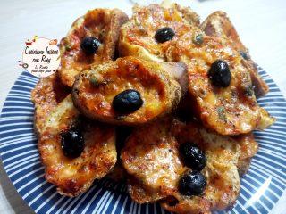 Pizzette di pane riciclare pane avanzato
