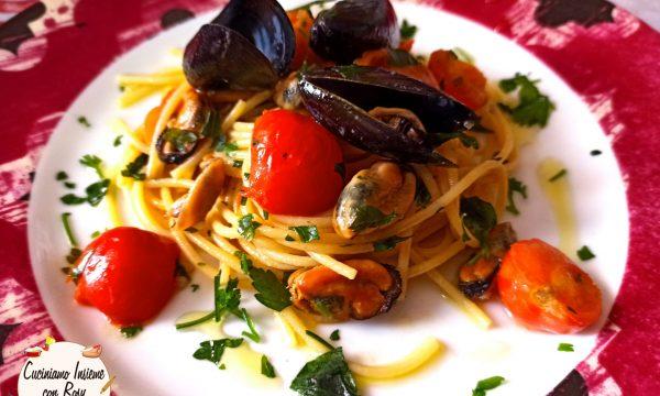 Spaghetti con le cozze con sughetto buonissimo – ricetta Top