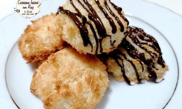 Biscotti al cocco soffici facilissimi