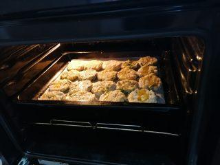 Crocchette senza uova con rucola al forno
