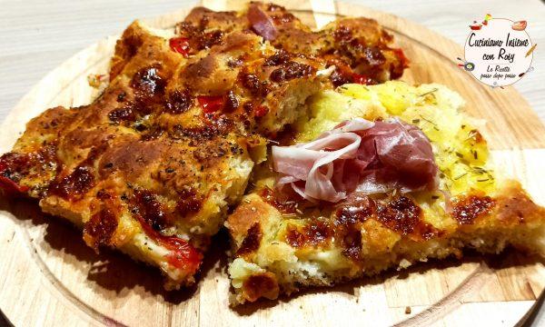 Focaccia barese Pizza soffice