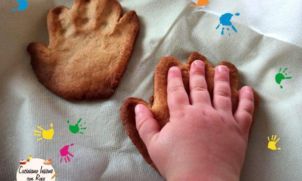 Biscotti manina per bambini senza zucchero