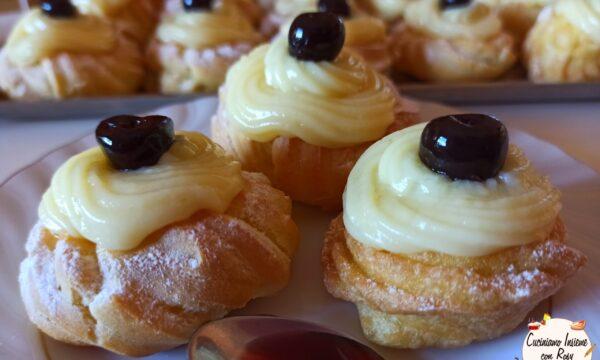 Le Zeppole e i SEGRETI per non far spaccare la crema (fritte o al forno)