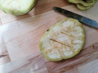 Parmigiana di melanzane classica fritta
