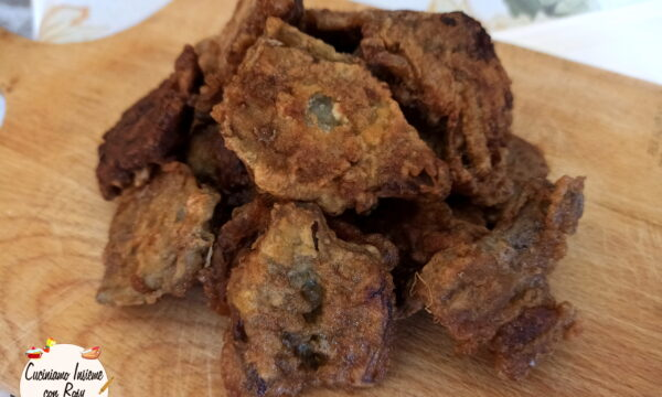 Carciofi fritti della nonna