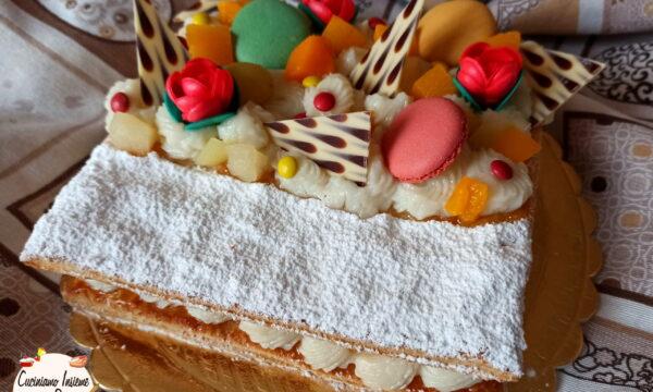 Cream tart millefoglie facile e veloce (anche vegana)