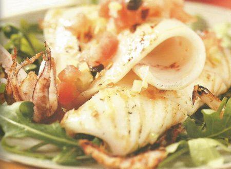 Calamari piccanti grigliati
