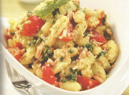 Gnocchetti sardi freddi in crema di zucchine
