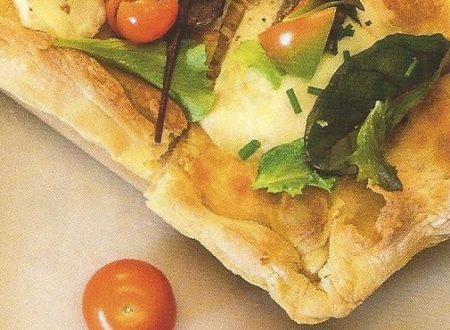 Pizza di verdure e tartufo